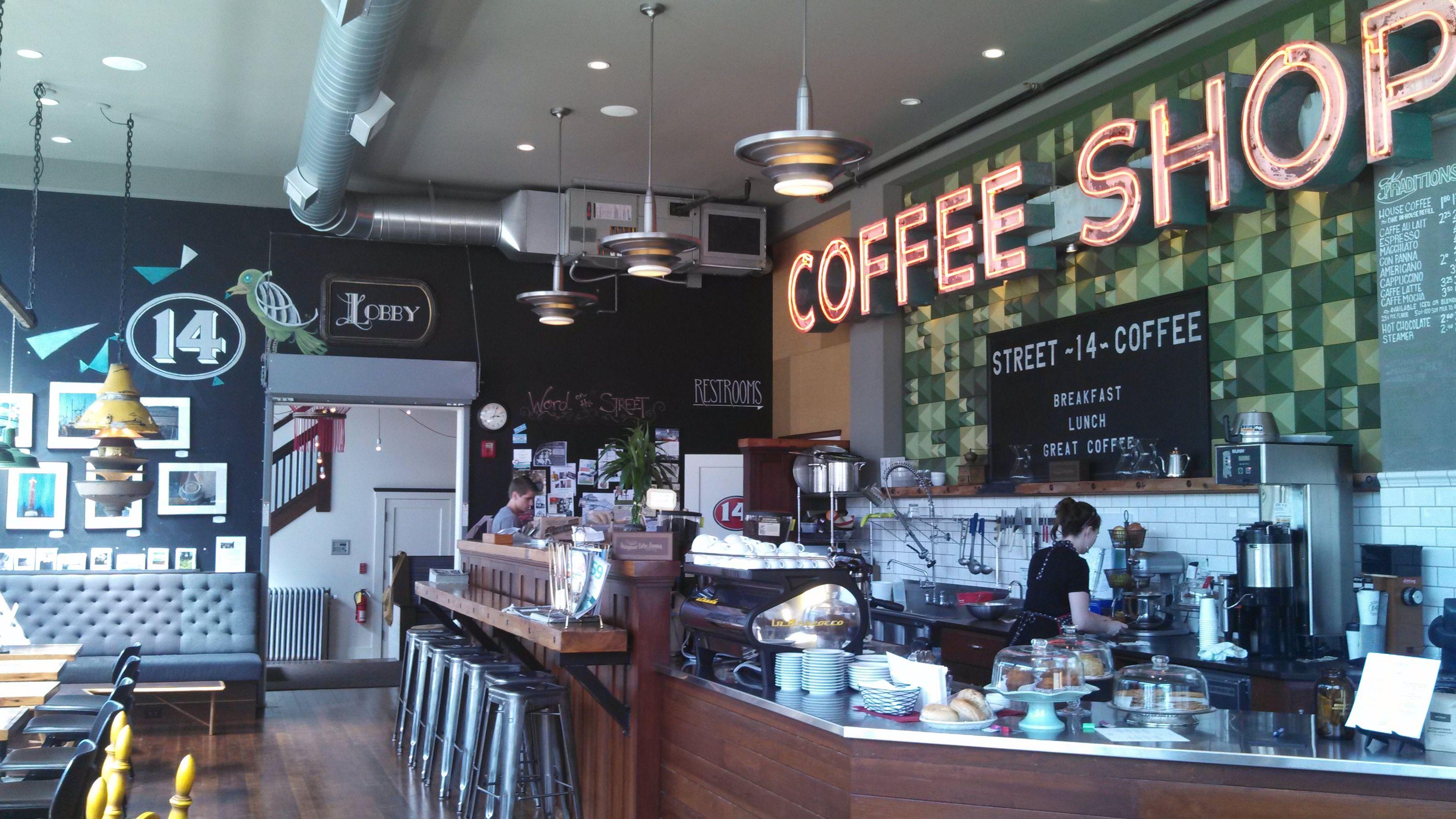 Coffee Shop @ Commodore Hotel Astoria Oregon - BIG graphic ...