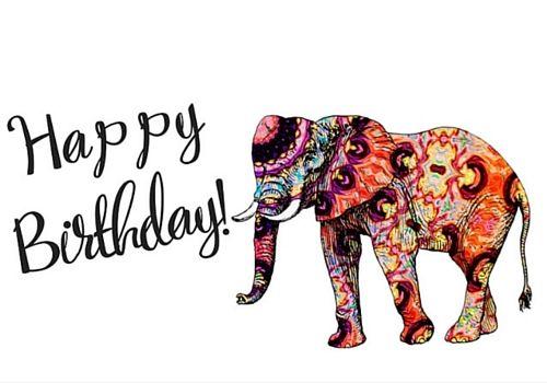 Elephant Birthday Happy Birthday Elephant Elephant Birthday Happy Birthday Images