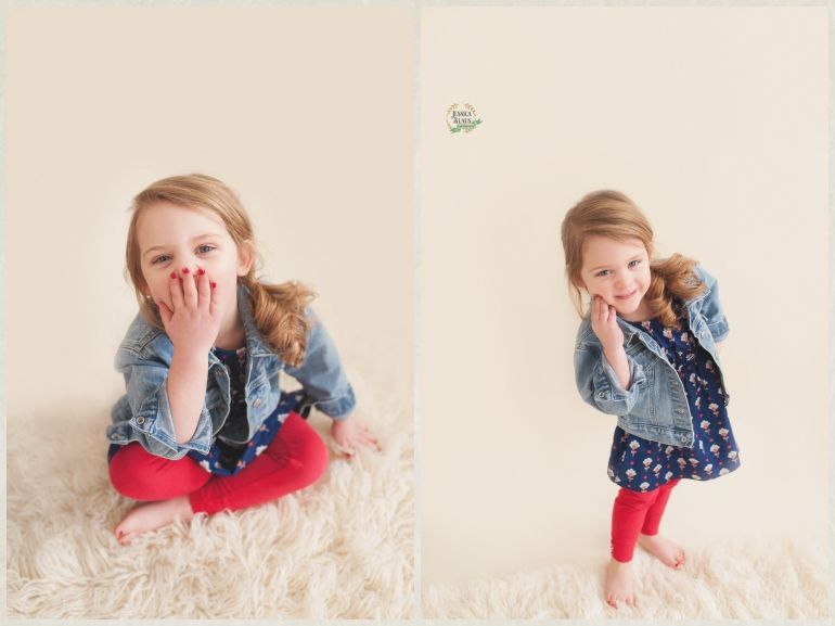jessica klaus photography st marys ohio senior photographer small children indoor session - Pictures Of Small Children