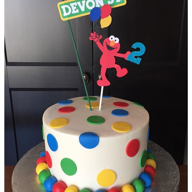 Elmo Birthday Cake Cakes Pinterest Elmo birthday cake Elmo