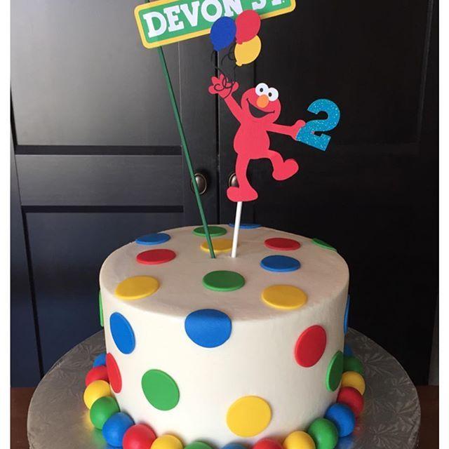 Elmo Birthday Cake Cakes Pinterest Elmo Birthday