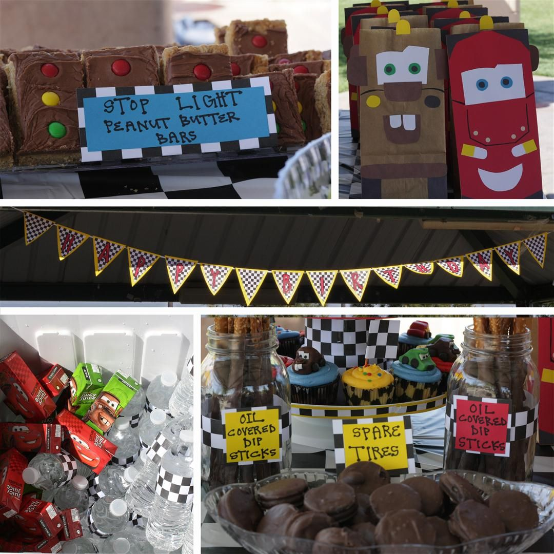 Cars Party Decorations 17 Best Images About Travis 3rd Birthday Cars On Pinterest