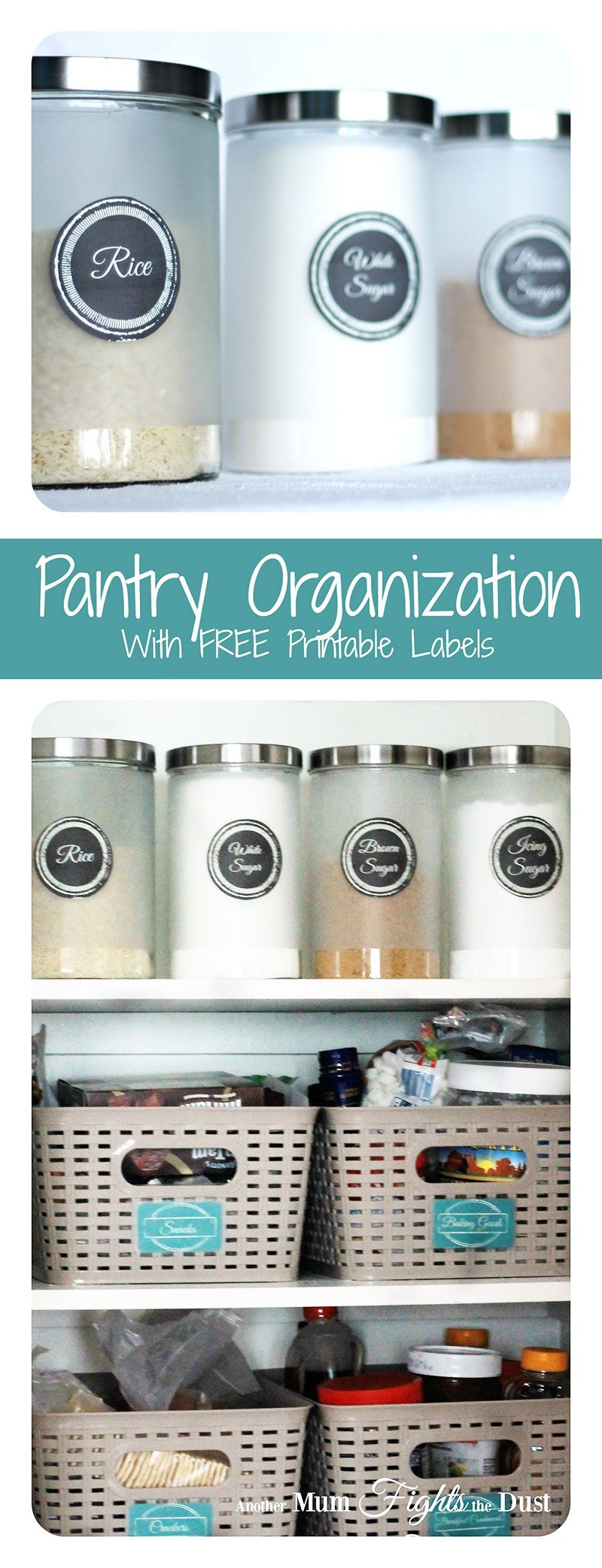 Organize your Pantry | Pinterest | Pantry, Pantry organisation and ...