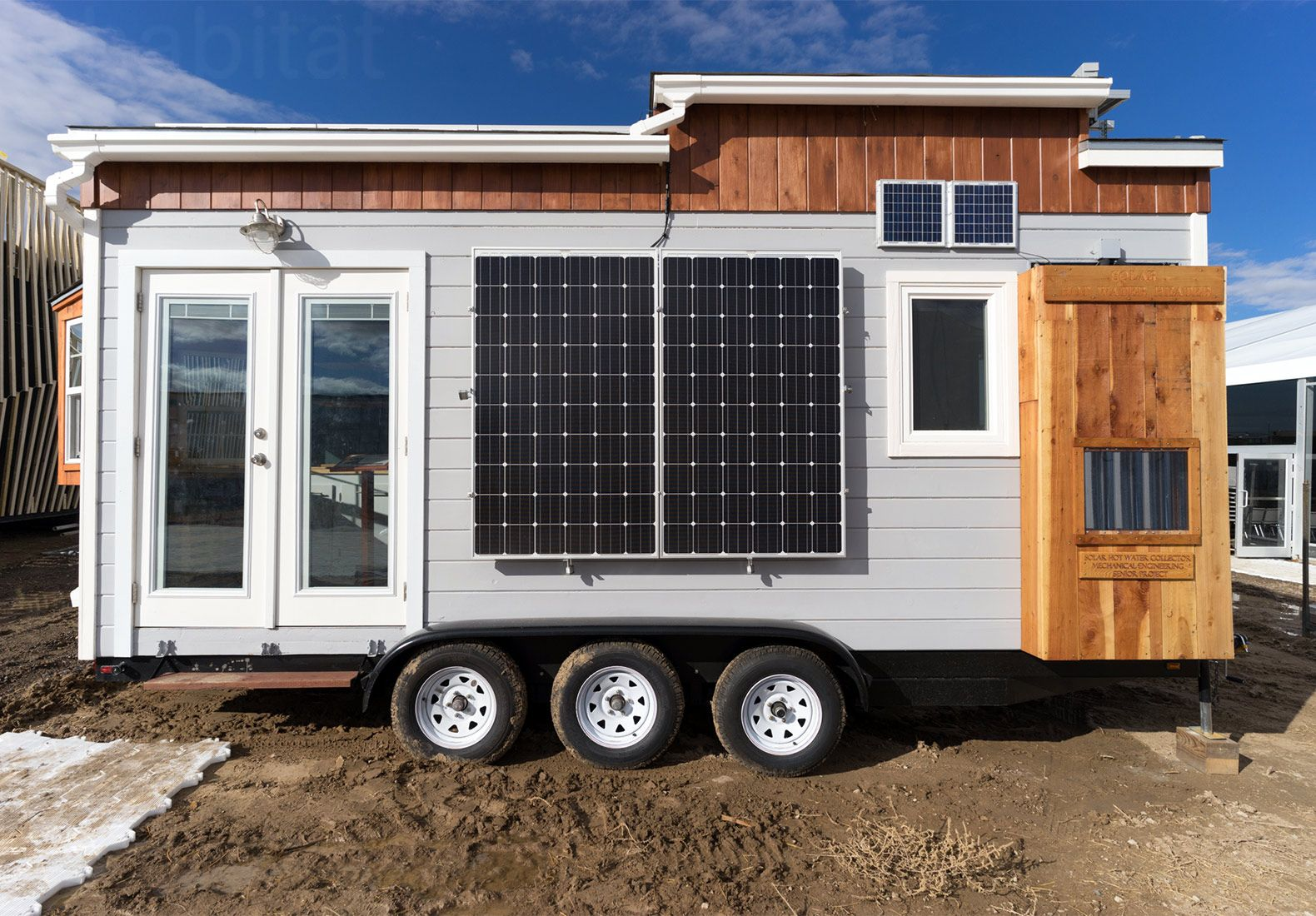 Student Built Solar Powered Tiny Home Represents New Vision For The American Dream Tiny House Design Luxury Landscaping Tiny House