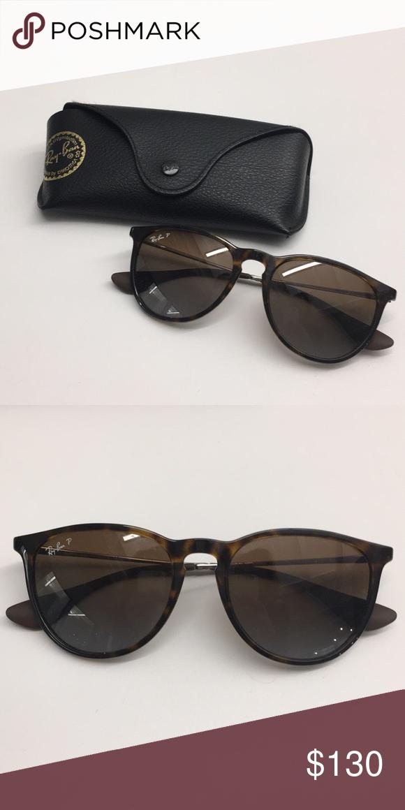3179d19d4a Ray-Ban Polarized Erika Sunglasses RB4171 Polarized! Look brand new -  barely worn!