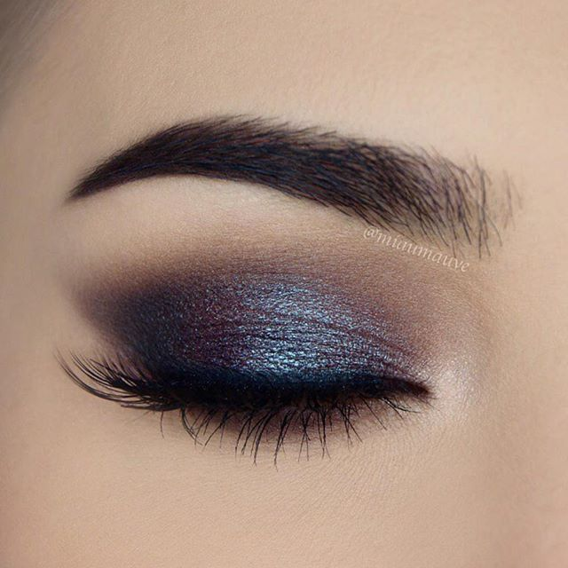 Pretty eye makeup for brown eyes