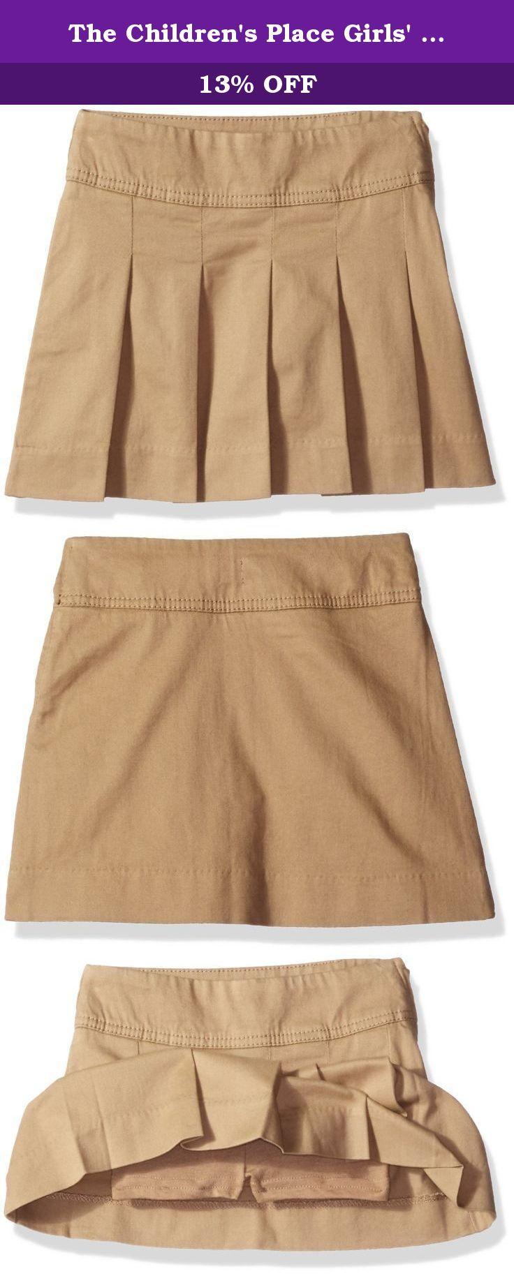 The Childrens Place Girls Big Uniform Skort