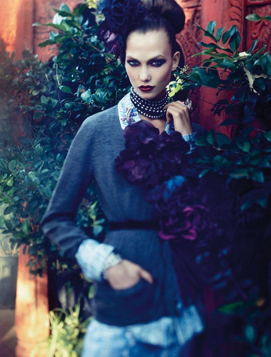 Karlie Kloss Vogue Germany dec 11 - 5