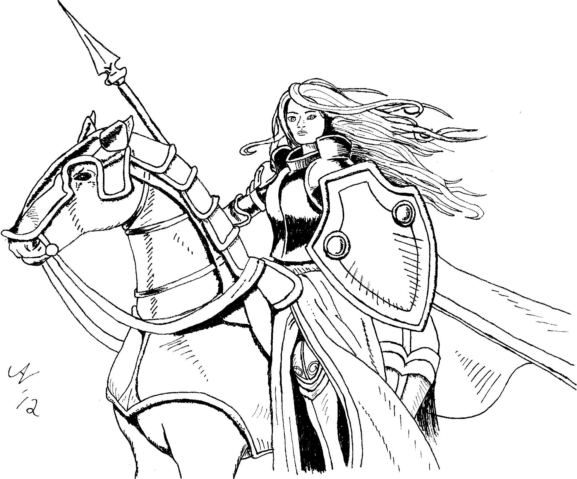 Coloring Book Zoo Coloring Pages Dragon Coloring Page Female Knight