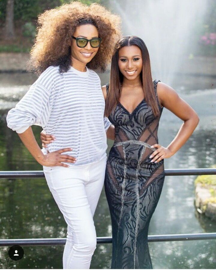 Cynthia Bailey And Daughter Noelle Celebrity Families Black Families Cynthia Bailey