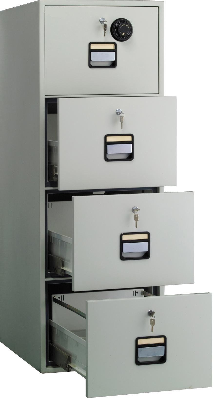Fire Safe File Cabinet 4 Drawer