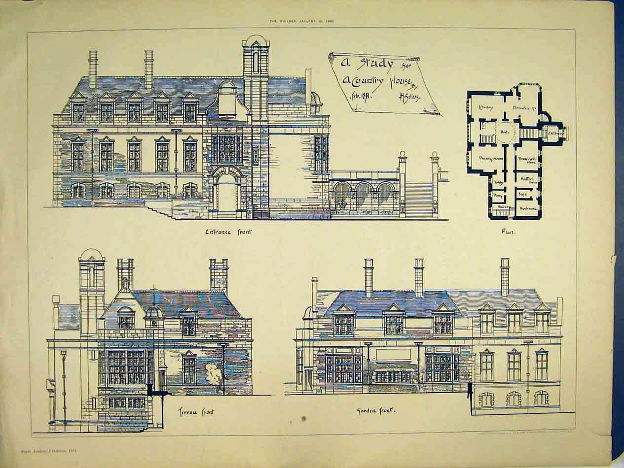 Image of victorian terrace exterior designs 119 vintage for Old school house plans