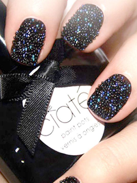 Caviar Nail Art 5 Wedding Pinterest Caviar Nails Caviar And