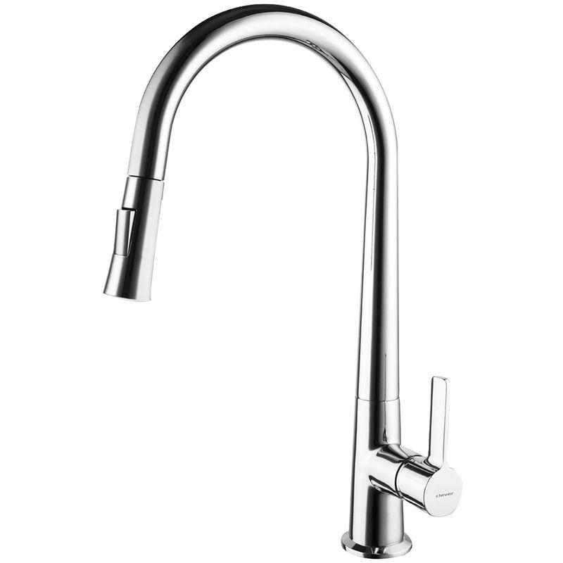 Robinet De Cuisine Monocommande Econature Coldopen Chef 3 Amovible Clever Home Decor Sink Decor