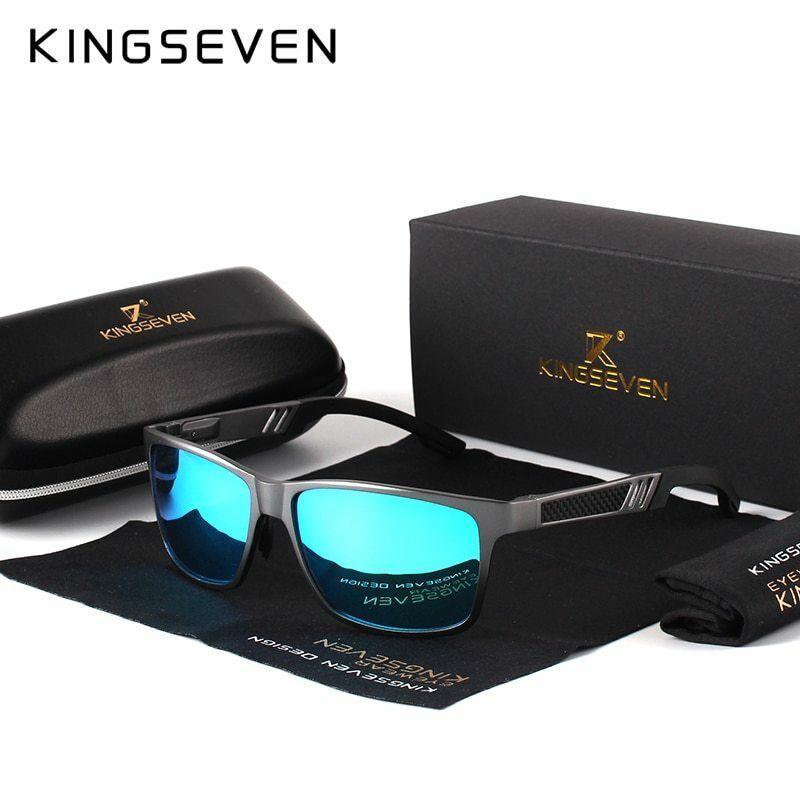 Mejores Lentes Polarizadas Gafas De Sol Para Hombres Uv Proteccion Recomendada Kingseven Asshowninthe Lentes Deportivos Gafas De Sol Para Hombre Gafas De Sol