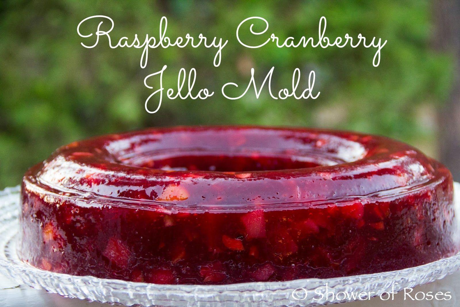 Jello Mold Raspberry Salad