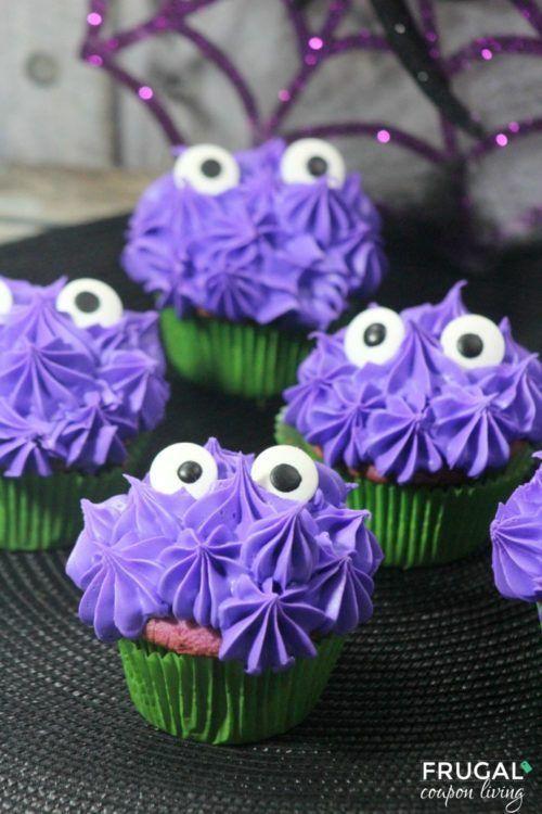 Decorative Cupcakes Ideas #halloweencupcakes