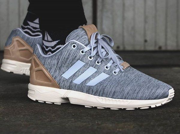 ca400afa4 Adidas ZX Flux Fleece Solid Grey Pale Nude