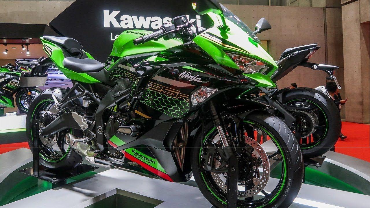 Kawasaki Ninja Zx 25r Closer Look Specifications Kawasaki Ninja Kawasaki Kawasaki Motorcycles