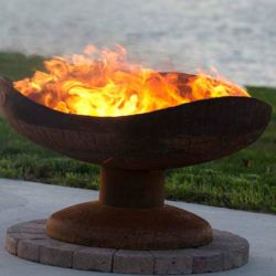 Photo of A Walk on the Beach Firebowl | The Fire Pit Gallery