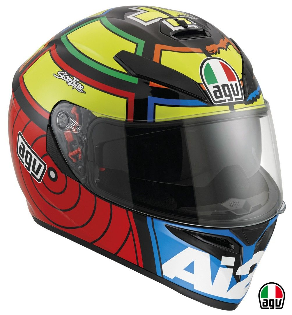 Buy the AGV SV Iannone replica helmet from For Motorbikes, with Free UK  Delivery, plus worldwide shipping on a wide range of motorcycle helmets, ...