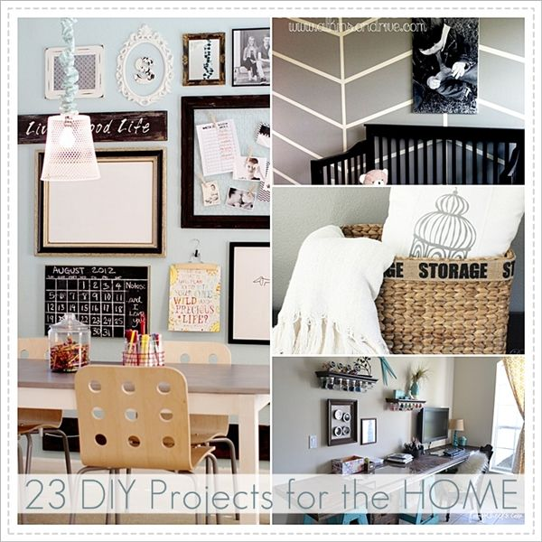 23 DIY Home Projects and Link Party 71 | Craft, Crafty and House