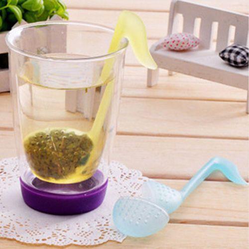 Cool Music Note Tea Strainer Spoon Tea Infuser Filter