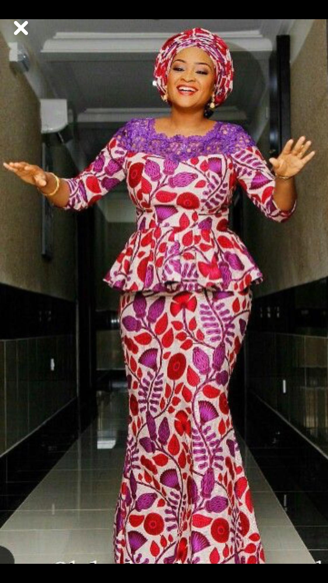 Pin de Aderonke Badero Akinlabi en African fashion | Pinterest ...