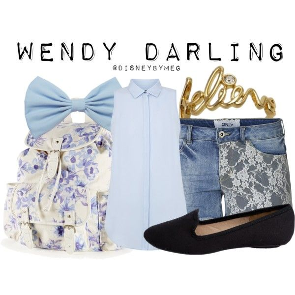 """""""Wendy Darling"""" by merstrawberries on Polyvore"""