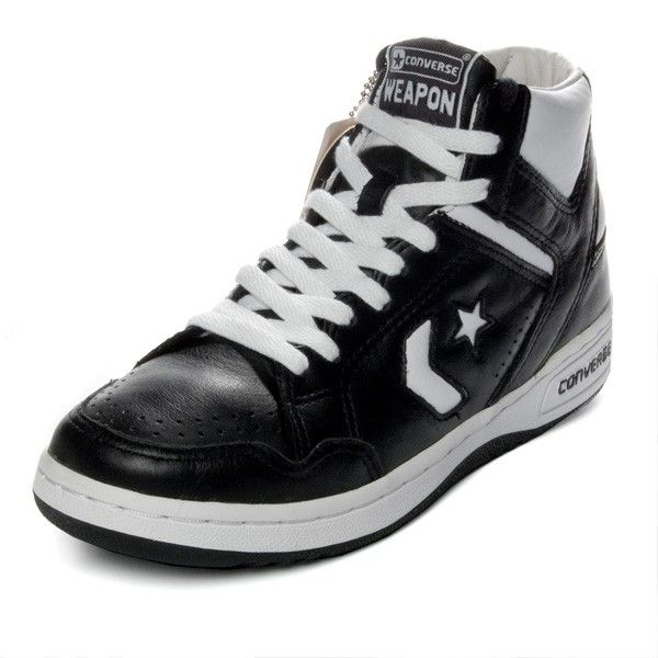 On Clearance converse WEAPON'86 leather white mid cut
