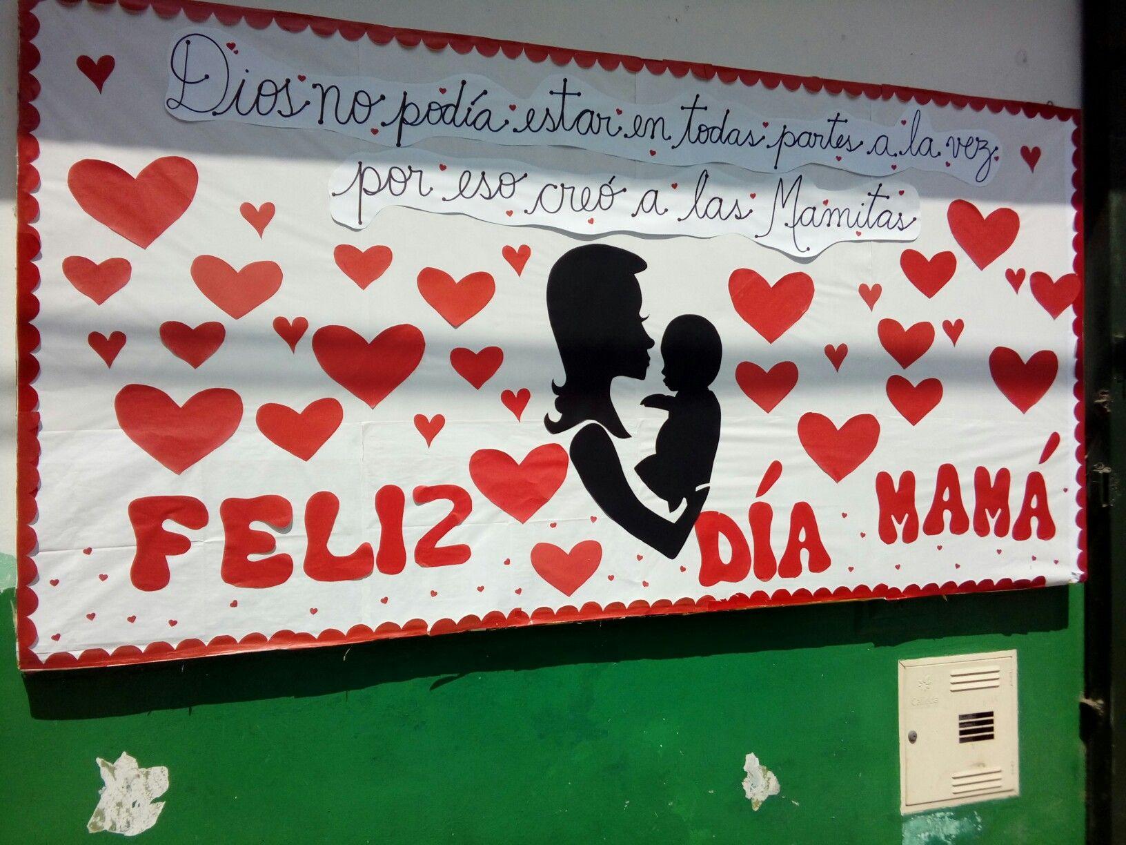 Mural Del Dia De La Madre Dia De La Madre Manualidades Y Crafts