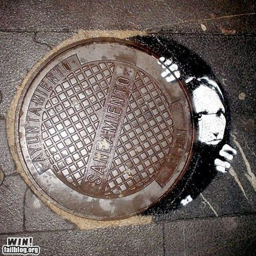 Sewer who's there?