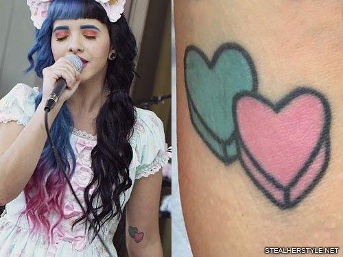Melanie Martinez Candy Hearts Tattoo Melanie Martinez Tattoos Candy Tattoo