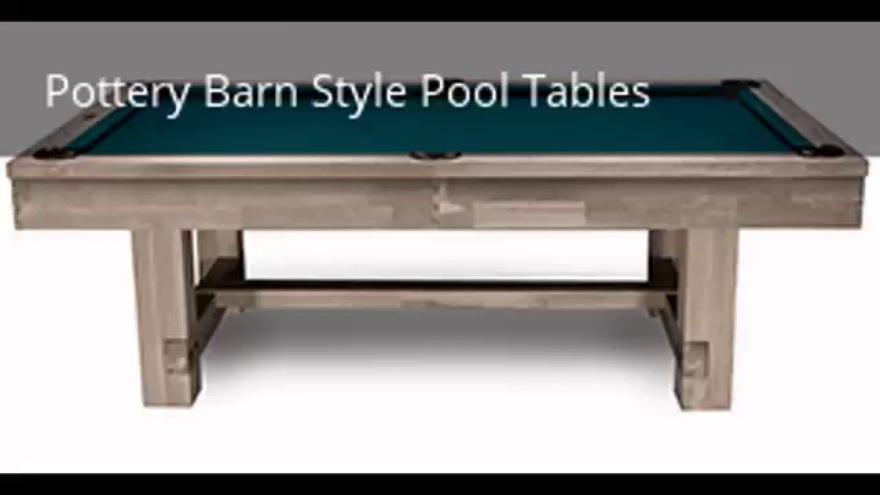 New Imperial International Billiards Pottery Barn …
