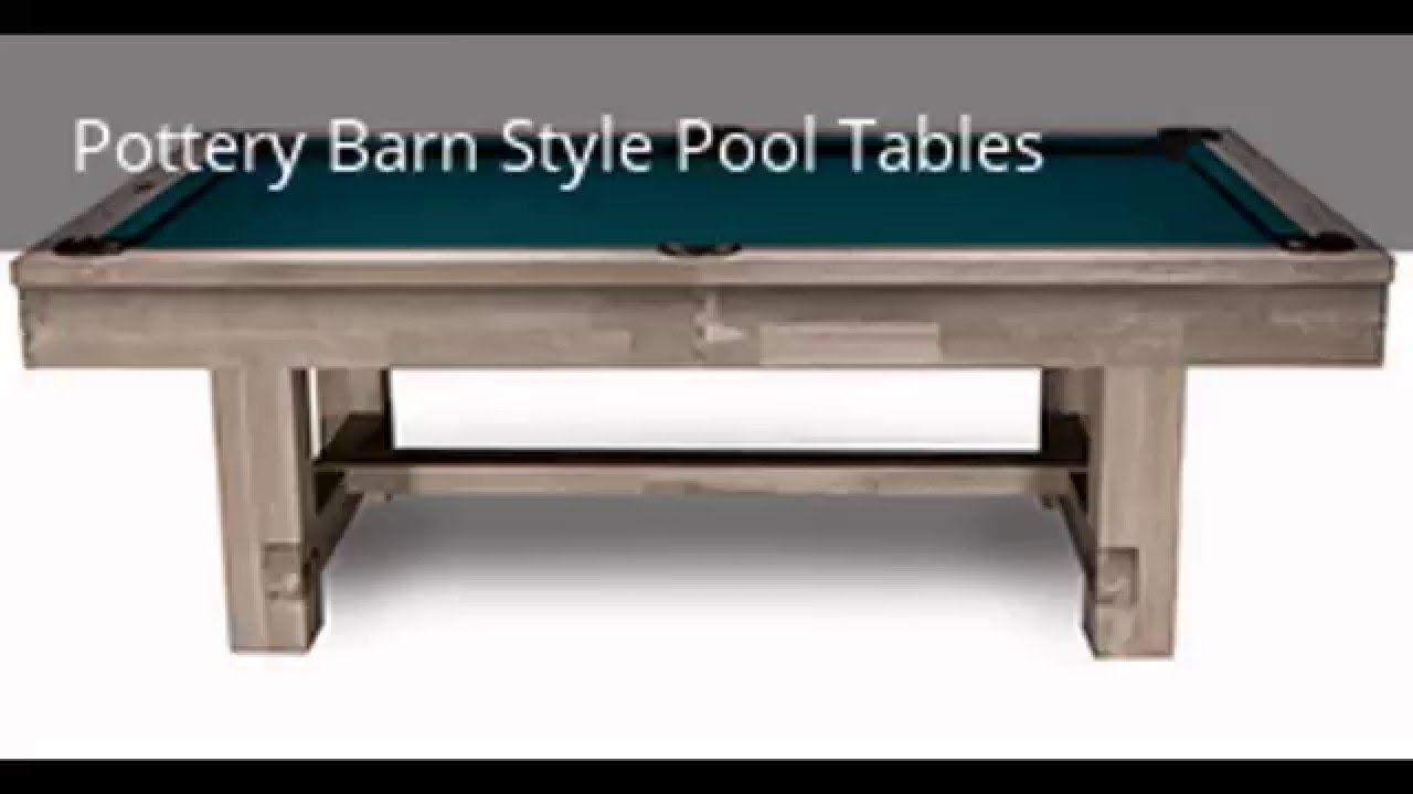 New Imperial International Billiards Pottery Barn Style