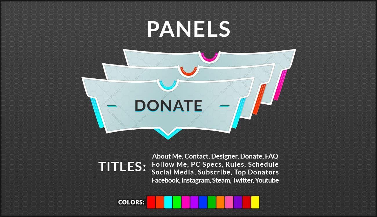 Pristine Bundle (Alerts + Panels) Social media schedule