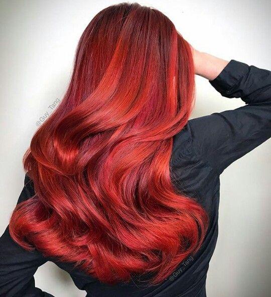 Tinte Rojo Naranja