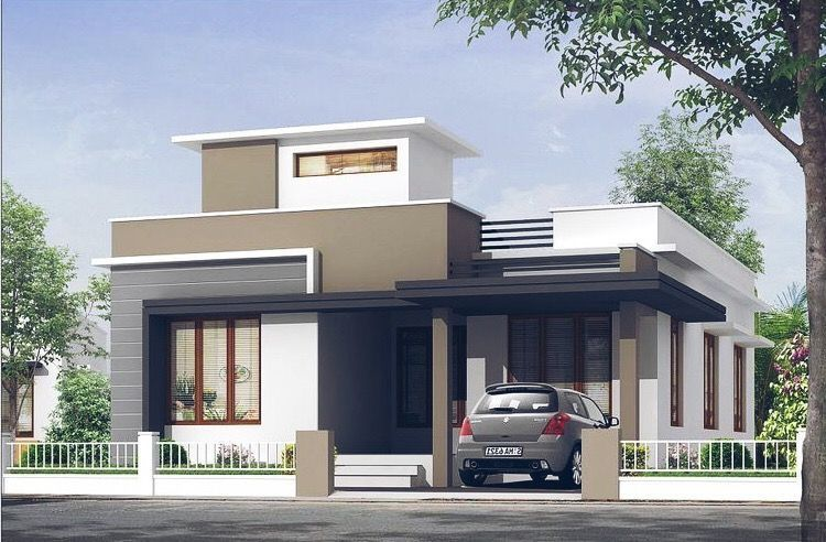 Pin By Jaysing On Home Small House Exteriors Small House Design Exterior Small House Elevation Design