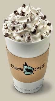 My Favorite Drink From Caribou White Chocolate Campfire