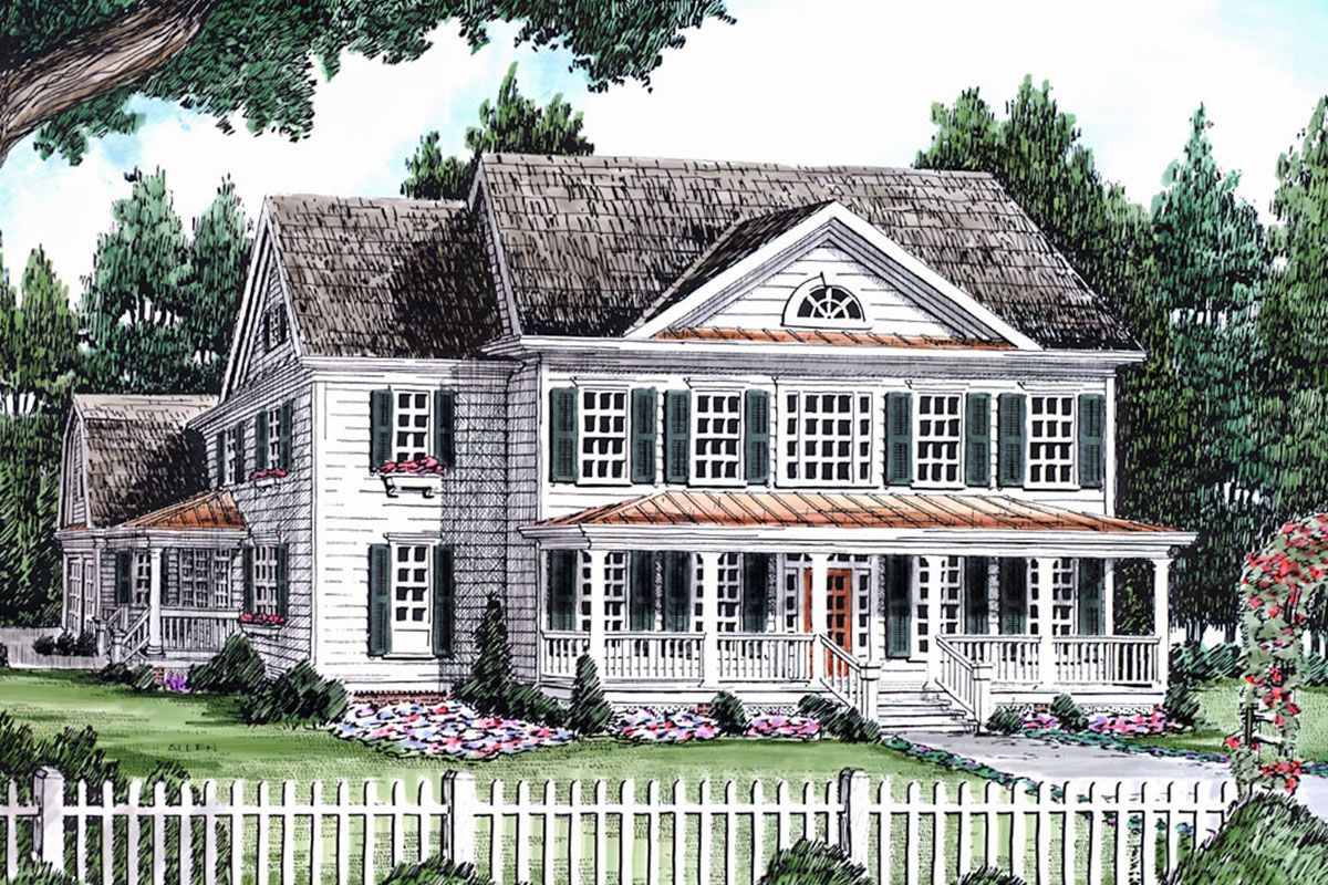 Plan 710166btz A Taste Of New England New England Style Homes House Plans Shingle Exterior