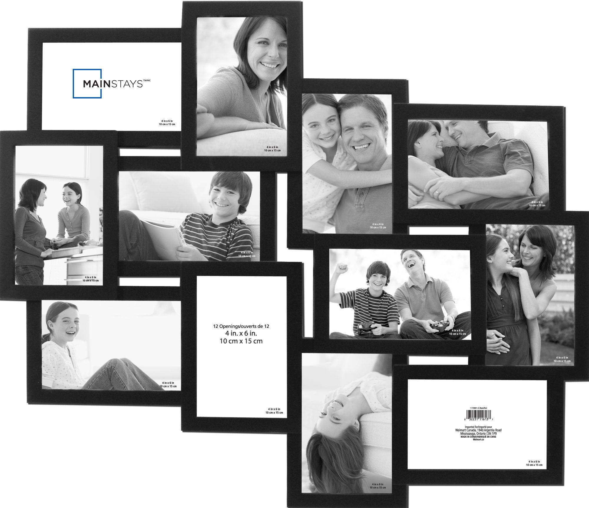 Warner 12 Opening Collage Black Frame Walmart Ca Family