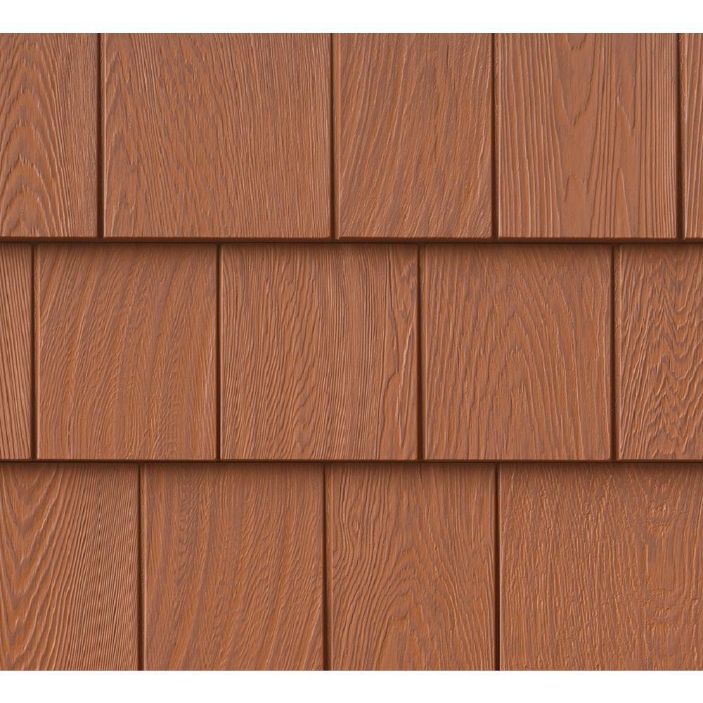 Grayne 8 1 2 In X 60 3 4 In Treated Cedar Engineered Rigid Pvc Shingle Panel 7 5 In Exposure 32 Per Box In 2020 Shingle Siding Vinyl Shingle Siding Shingle Panel