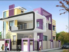 icymi sample front elevation for small indian houses houses and rh pinterest com  front elevation of small houses modern