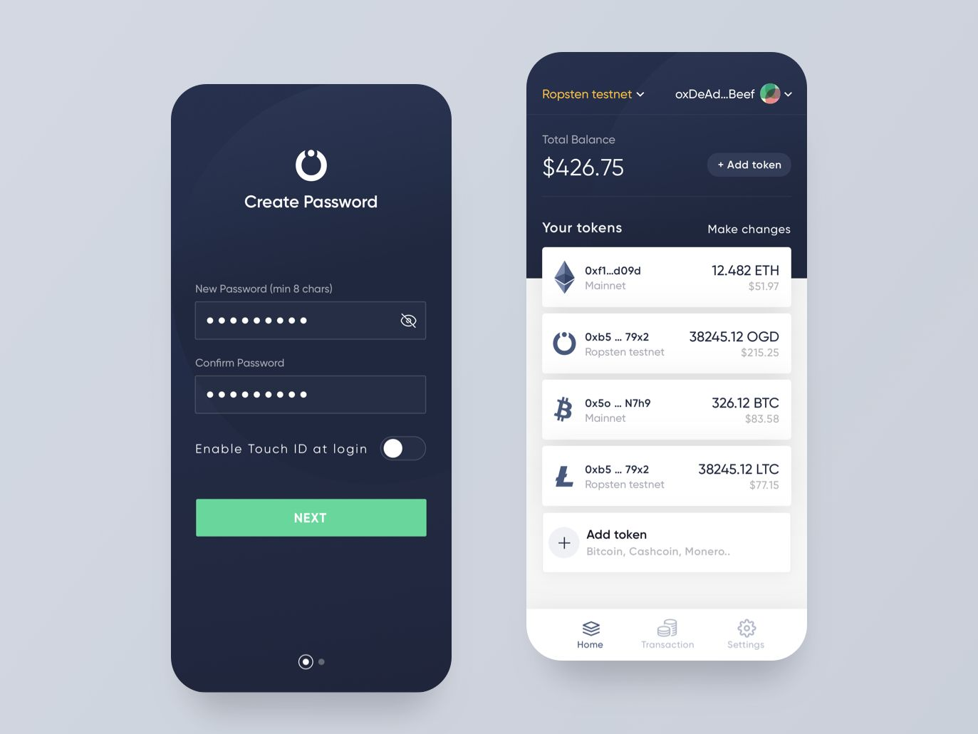 OnGrid Systems WAT crypto wallet