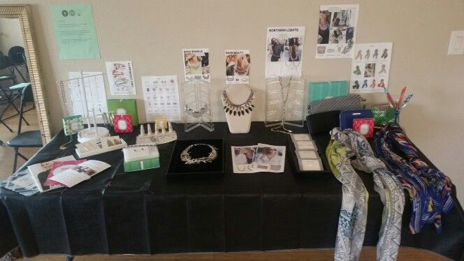 Stella & Dot trunck show party set up. Like what you see take a tour www.stelladot.com/LeticiaRivera
