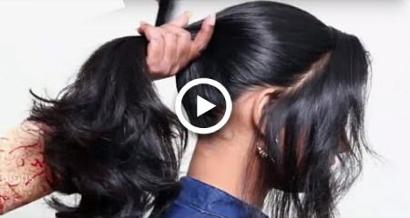 Easy Hairstyles for Beginners (School, College, Work) | Quick & Heatless Hairstyles 2018 images