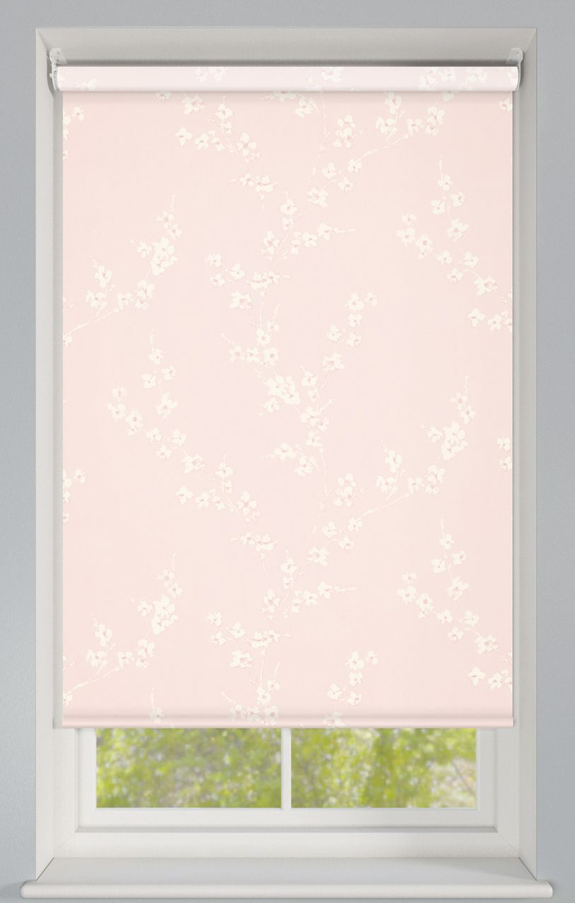ornamental petal electric roller blind at order blinds online - Order Blinds Online