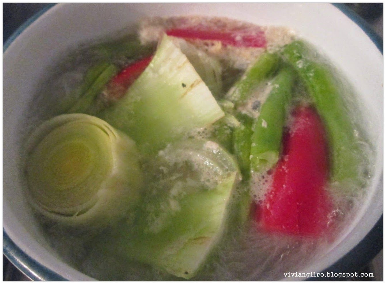 Receta saludable - Sopa campesina en http://viviangilro.blogspot.com/2014/08/receta-saludable-sopa-campesina.html