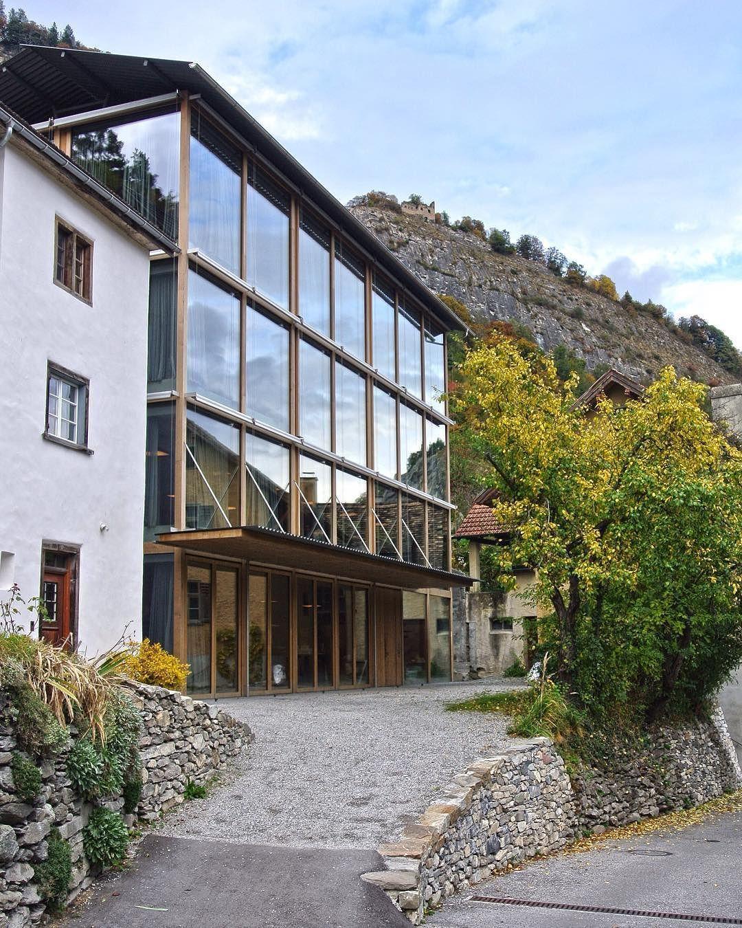 peter zumthor architekt / nieuw wohnhaus und atelier