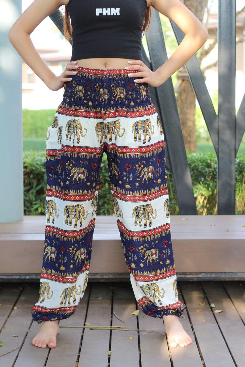 Plus Size Hippie Pants